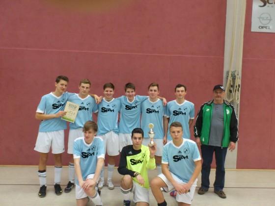 Siegermannschaft von Trebus