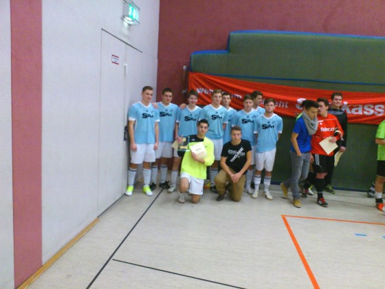 Siegermannschaft in Fürstenwalde