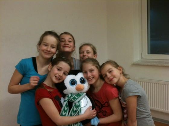 Unsere 6 WM Mädchen + Agathe