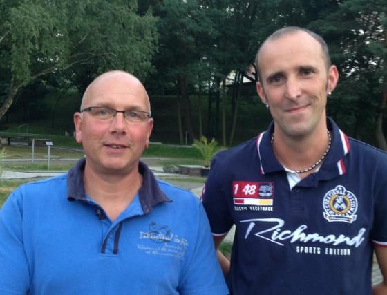 Neues Trainerteam: Thomas Meyer und Karsten Schwabe (v.l.)