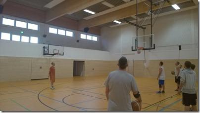 Basketball_20140825 Erster Korb