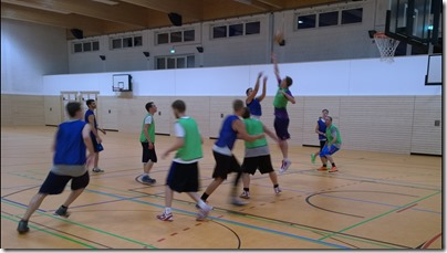 Basketball 20140825 Erstes Training