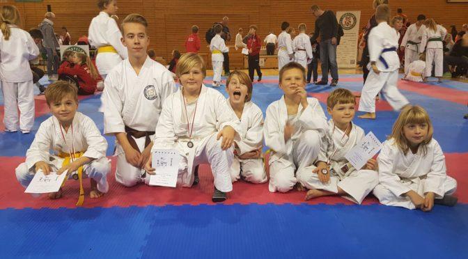Erfolg beim Karate Ranglistenturnier