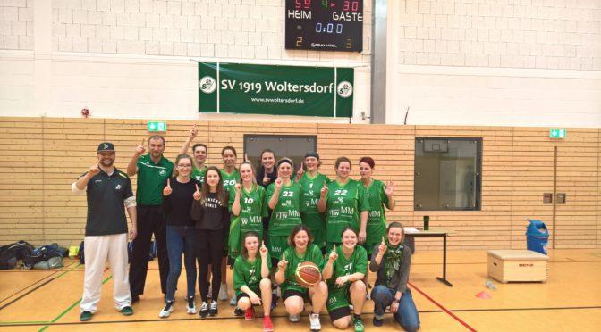Basketballerinnen mit erstem Sieg!