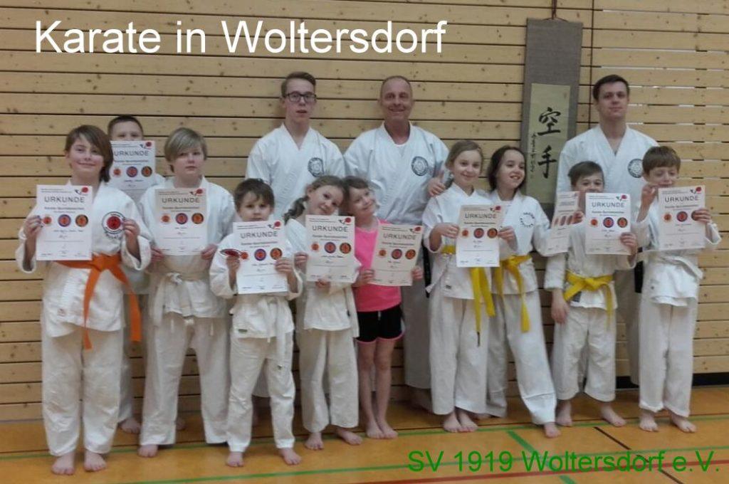 Sportabzeichen des Deutschen Karate Verband e.V. Stufe 1