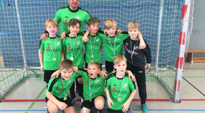 E1-Junioren gewinnen den Wintercup 2017 bei Fortuna Biesdorf