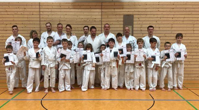Karate Prüfungen