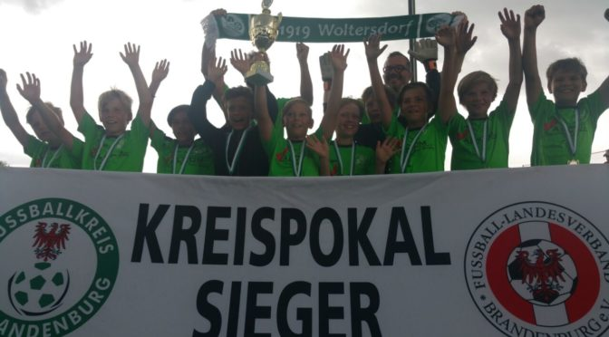E1 großartiger Gewinner des Ostbrandenburgpokal 2016/2017