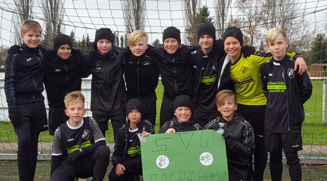 D1 gewinnt gegen SV Germania Schöneiche II