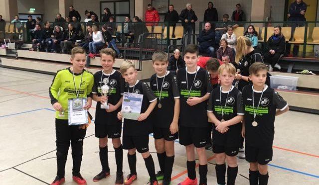D1 untrainiert mit Platz 2 beim Fördervereinscup 2018 in Erkner
