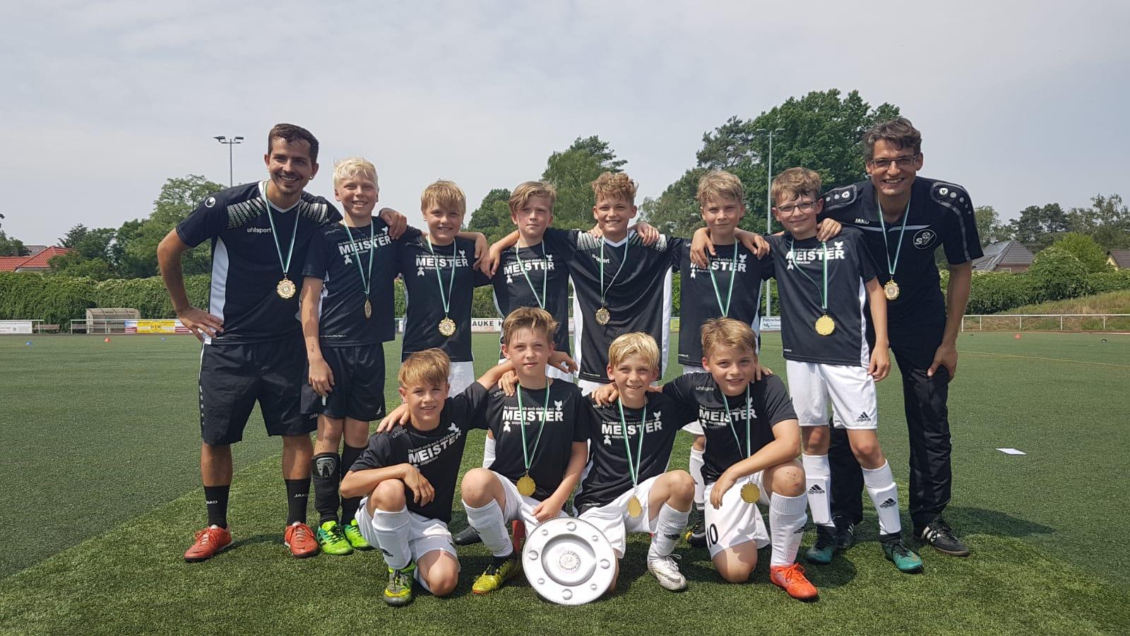 E1 gewinnt Kreismeisterschaft